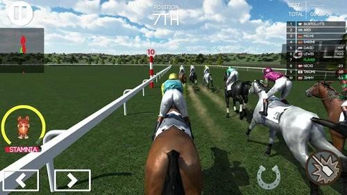 赛马模拟游戏