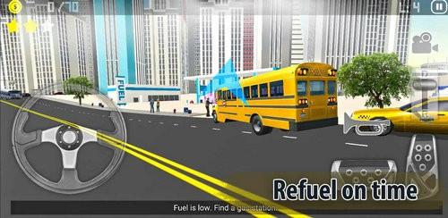 城市公交车司机