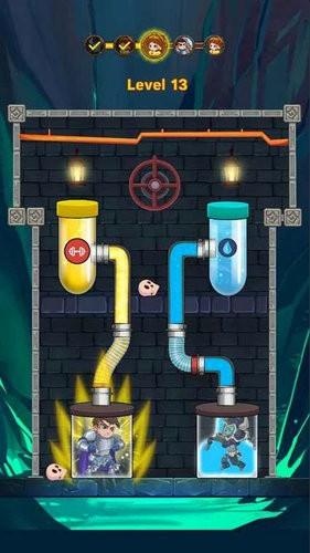 英雄管道救援水之谜游戏