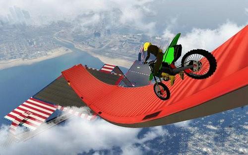 不可能的赛道3D摩托车特技下载