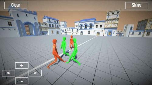 人偶战斗模拟器游戏