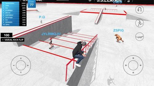 滑板空间游戏