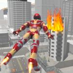 飞行超级英雄机器人完整版