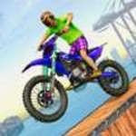 天空自行车特技游戏无限金币版