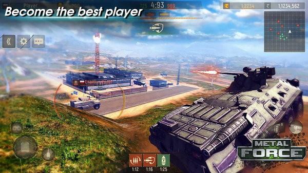 金属部队战车游戏下载