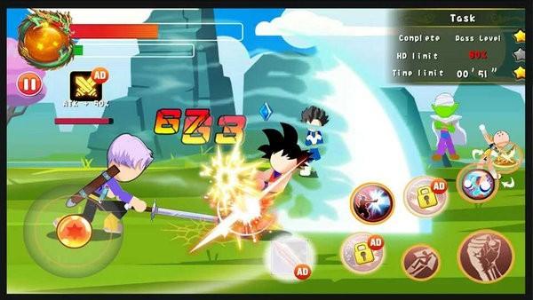 超龙Z战士游戏