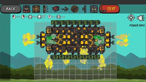 建造战车游戏