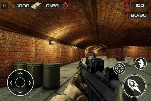 反恐怖射击游戏枪射击下载