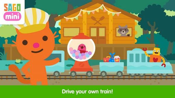 西米迷你火车冒险游戏