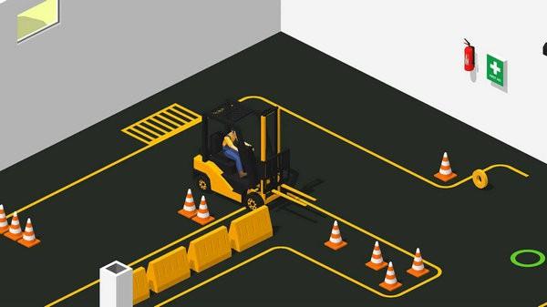 叉车极限3D模拟器2021中文版