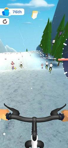 疯狂自行车极限骑行游戏