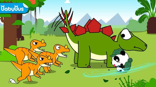 宝宝巴士恐龙乐园游戏