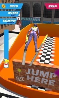 跳台滑雪游戏无限金币版