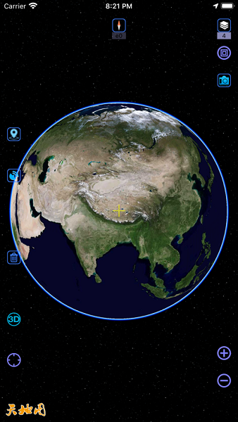 奥维地图高清卫星地图