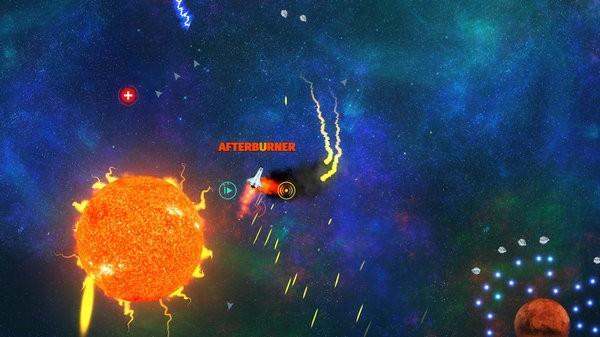 太空风暴小行星袭击