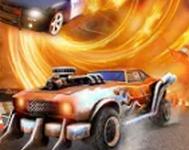 格斗汽车游戏
