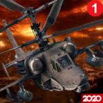 武装直升机模拟机3D战斗空袭无限子弹版