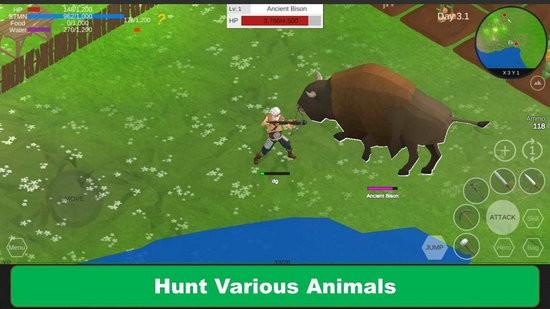 荒地野外生存游戏