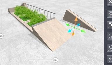 踏板车空间游戏