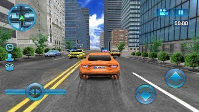 模拟城市驾驶游戏