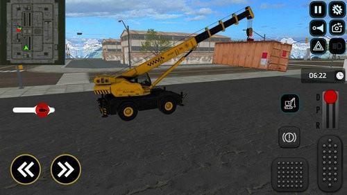 重型卡车起重机模拟器