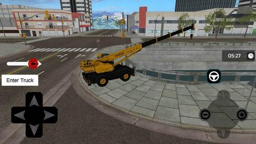 重型卡车起重机模拟器下载