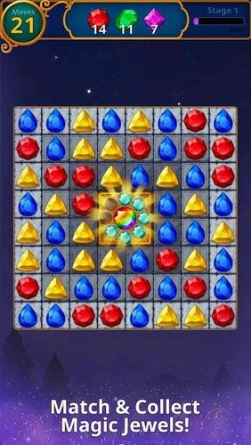 宝石魔术神秘匹配游戏