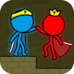 红色和蓝色火柴人动画跑酷最新版