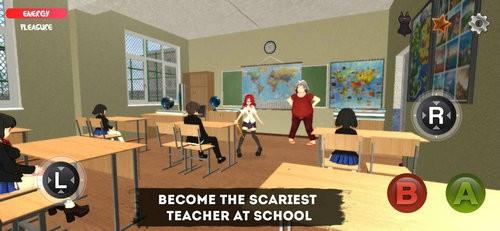 疯狂的老师游戏