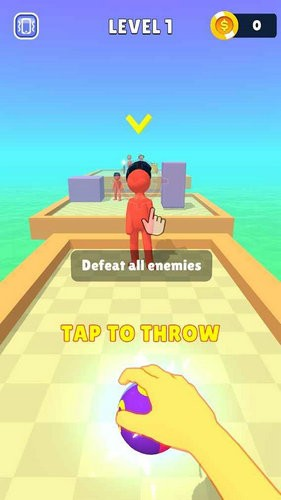 愤怒射击3D麻痺全场游戏