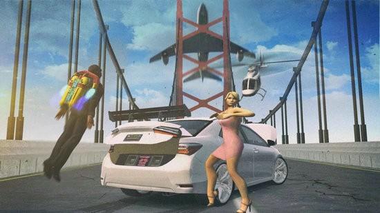 花冠驾驶和比赛游戏