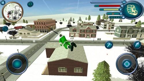 圣诞老人绳索英雄模拟器