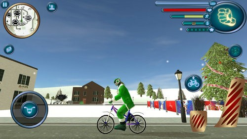圣诞老人绳索英雄模拟器下载