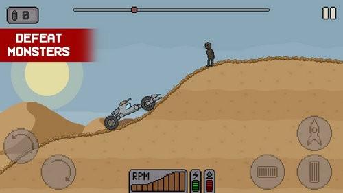 太空僵尸赛车游戏