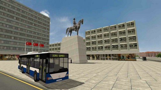 城市公交车模拟器安卡拉