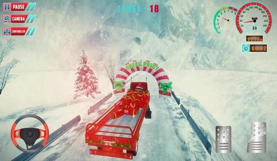 攀爬卡车驾驶游戏