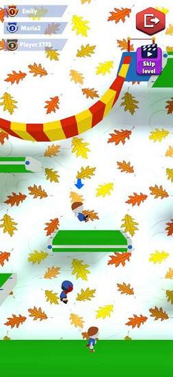 田径跳跃蹦游戏