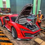 汽车修理工车间