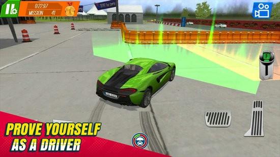汽车试用撞车司机游戏