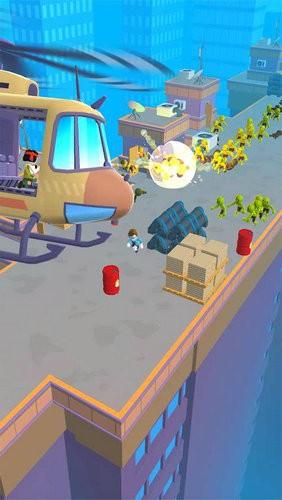 直升机逃脱3D游戏