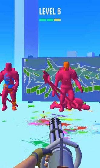 彩弹射击3D最新破解版