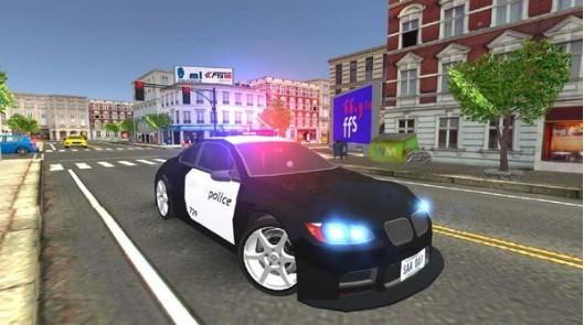 警车巴士模拟器游戏汉化版