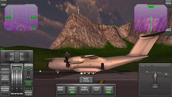 涡轮螺旋桨飞行模拟器中文版破解版