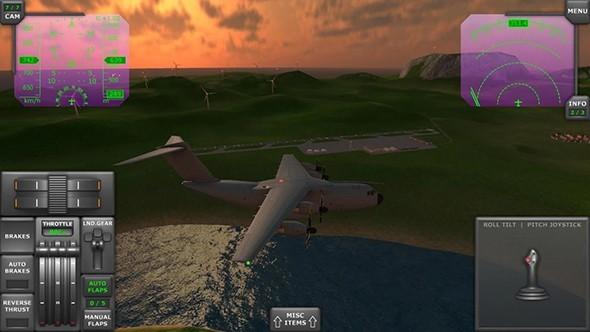 涡轮螺旋桨飞行模拟器无限金币版