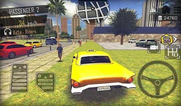 GTA开放世界黑道司机