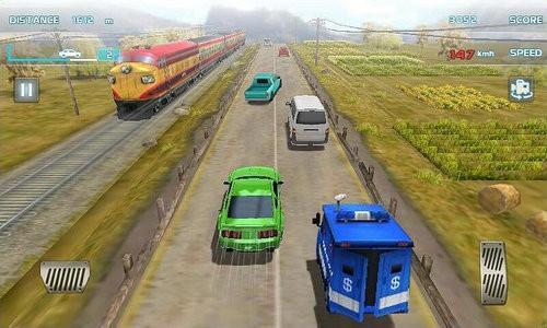 涡轮增压赛车3D游戏