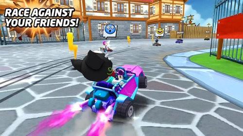 爆炸卡丁车游戏