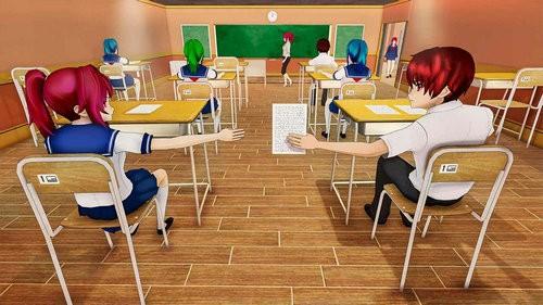 动漫高校生活模拟器