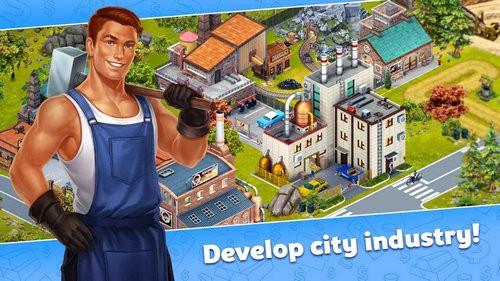 城市建设模拟黄金谷游戏
