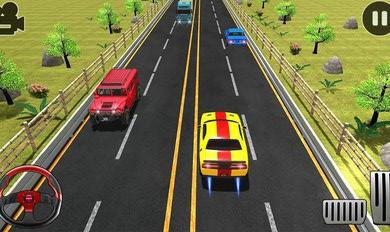 公路赛车2021交通极速赛车游戏